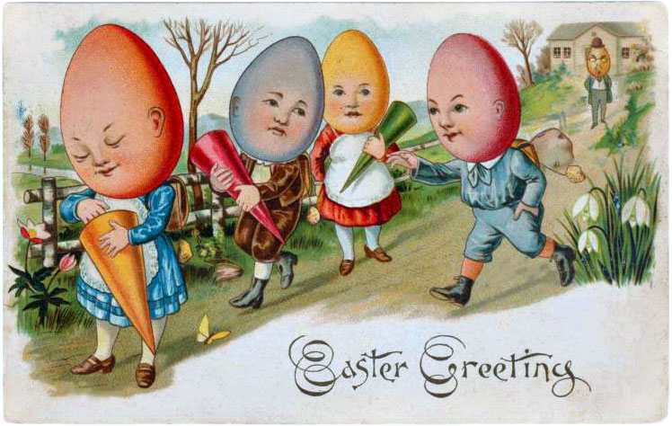 Easter Greetings from 1906